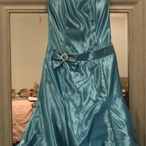 Formal quinceanera dress